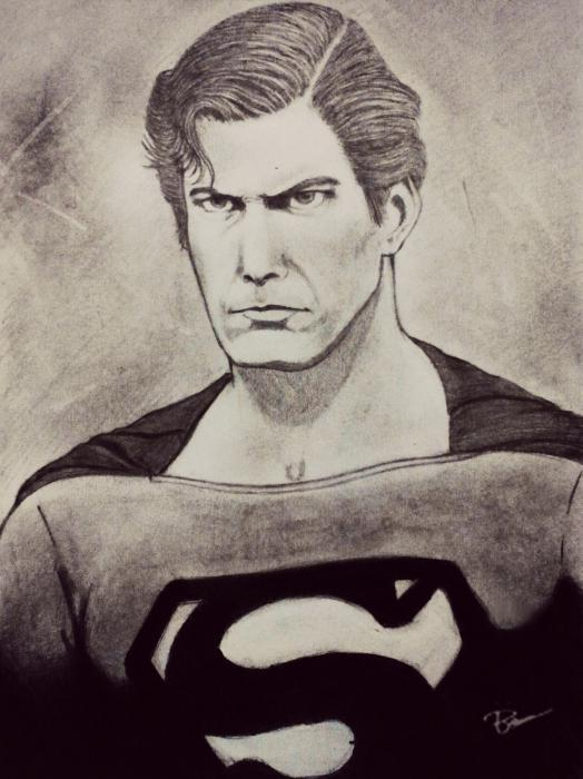 Christopher Reeve by beamskee